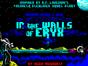 In The Walls of Eryx спектрум