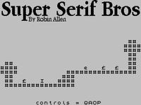 Super Serif Bros.