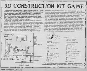 Карта 3D Construction Kit