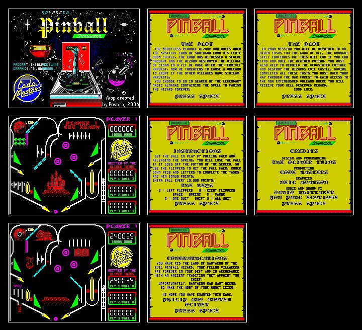 Скриншоты advanced pinball simulator flipper magico - 6