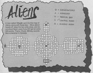 Карта Aliens
