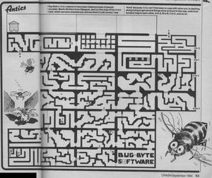 Карта Antics