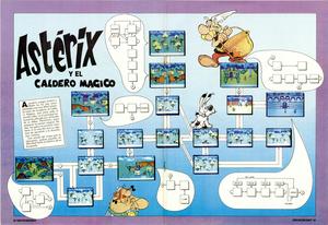 Карта Asterix and the Magic Cauldron