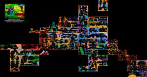 Карта Auf Wiedersehen Monty