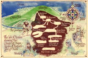Карта Авалон