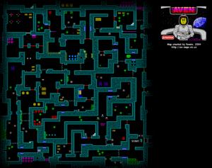 Карта Aven