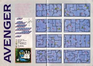 Карта Avenger