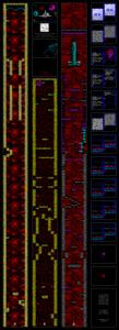Карта Axons