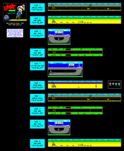 Карта BMX Freestyle