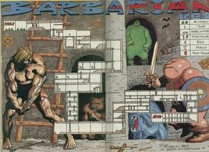 Карта Barbarian