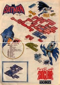 Карта Бэтман