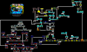 Карта Batman: The Caped Crusader