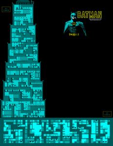 Карта Batman: The Movie