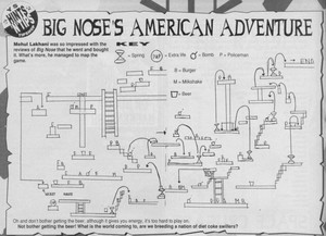Карта Big Nose's American Adventure