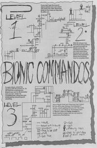 Карта Bionic Commando
