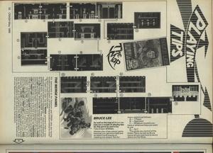 Карта Bruce Lee