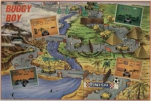 Карта Buggy Boy