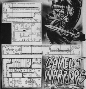 Карта Camelot Warriors