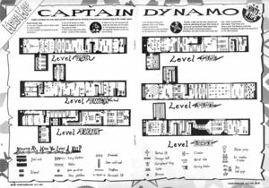 Карта Captain Dynamo
