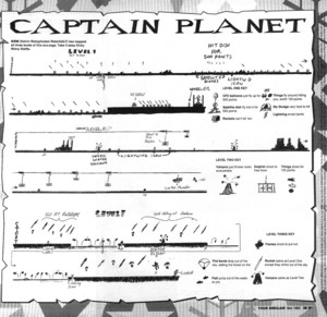 Карта Captain Planet