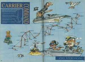 Карта Carrier Command