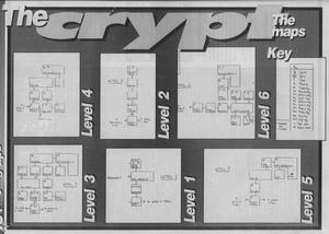 Карта Castle Master II: The Crypt