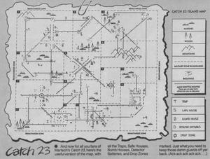 Карта Catch 23