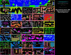 Карта Caves of Doom
