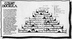 Карта Count Duckula