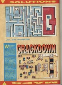 Карта Crack Down