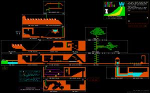Карта Creepy Dungeons