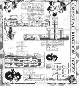 Карта Crystal Kingdom Dizzy