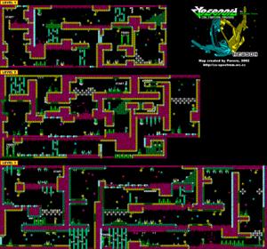 Карта Cybernoid