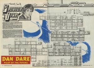 Карта Dan Dare: Pilot of the Future