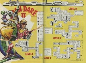 Карта Dan Dare II: Mekon's Revenge