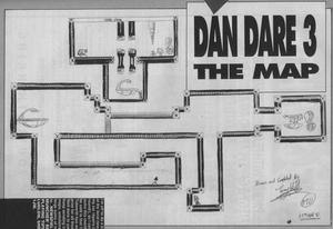 Карта Dan Dare III: The Escape