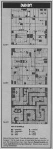 Карта Dandy