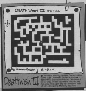 Карта Death Wish 3
