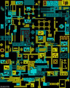 Карта Die Alien Slime