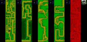 Карта Dirt Track Racer