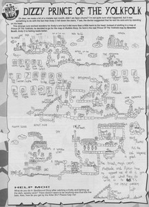 Карта Dizzy, Prince of the YolkFolk
