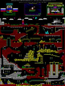 Карта Dizzy XII: Underground