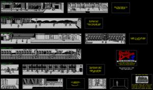 Карта Double Dragon III: The Rosetta Stone