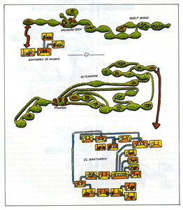 Карта Dragontorc