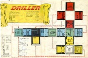 Карта Driller