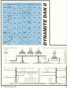 Карта Dynamite Dan II