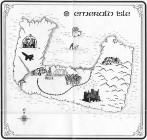 Карта Emerald Isle