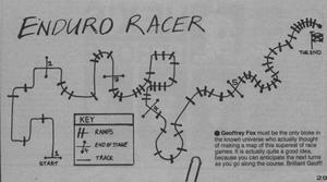 Карта Enduro Racer