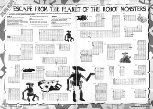 Карта Escape from the Planet of the Robot Monsters