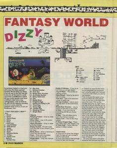 Карта Fantasy World Dizzy